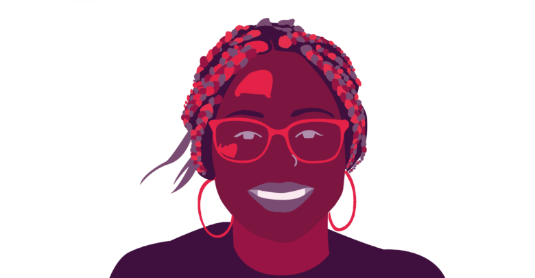 Melanie Curry - Graphic By Ally Rzesa / Berkeley Beacon Staff