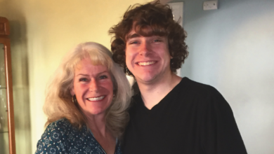 Susan Flint chose to establish a $1,000 scholarship in her son's memory for students entering visual and media arts. Courtesy of Susan Flint.