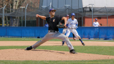 Junior Jack Fox totals 56 strikeouts this season, bringing his career total to 131. Photo courtesy of Kate Foultz.
