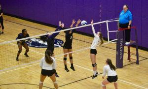 Emerson's women's volleyball team fell one win short of the postseason. OJASVANI DAHIYA / BEACON CORRESPONDENT