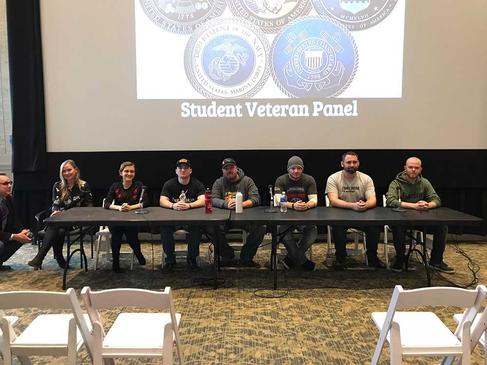 Student+veterans+discussed+the+issues+they+face+on+campus+in+the+Bill+Boardy+Theatre+last+week.%0AKAITLYN+BRYSON+%2F+BEACON+CORRESPONDENT