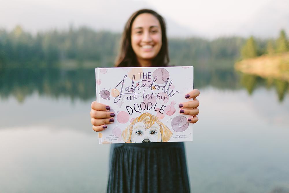 Isabel Thottam self-publishes her first children's book. Courtesy of Isabel Thottam