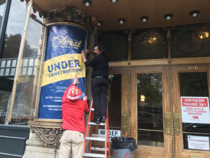 The Colonial Theatre is set to reopen June 2018. MONIKA DAVIS / BEACON CORRESPONDENT