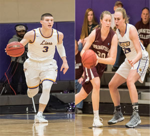Gray (left) was named first team All-Conference and Boyle (right) was named second team All-Conference. Photos: Daniel Peden/Beacon Staff