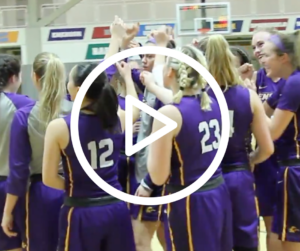 WATCH: Women's basketball ends season with playoff loss to Babson