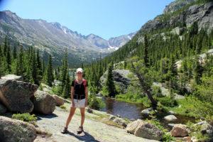 Mariana Marshall '10 blogs on the move