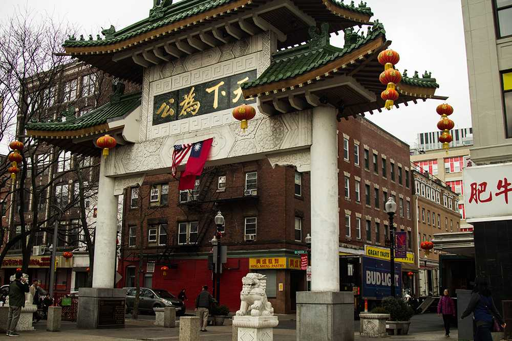 Boston's Chinatown is rapidly gentrifying and institutions are playing a part. Photo: Cassandra Martinex / Beacon Staff