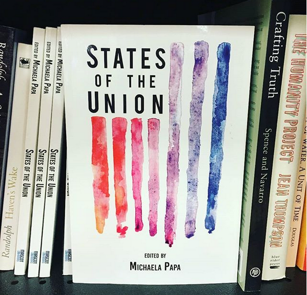 States of the Union is available at Amazon, Barnes and Noble, and the Emerson College Bookstore. Photo: Courtesy of Michaela Papa.