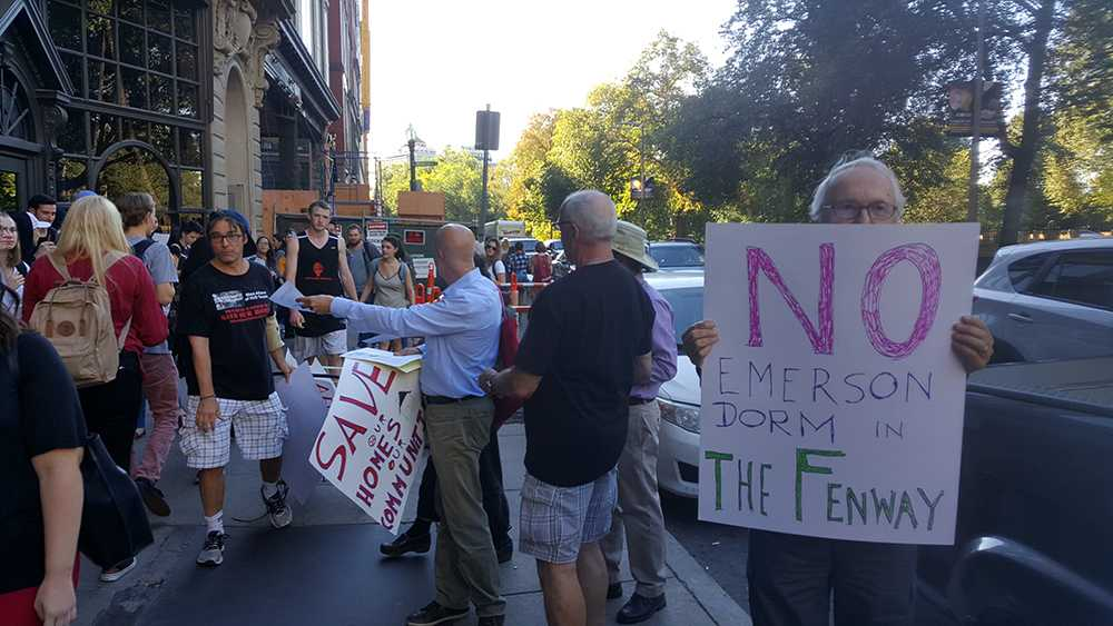 Fenway residents protest Hemenway lease NATHANAEL KING / BEACON STAFF