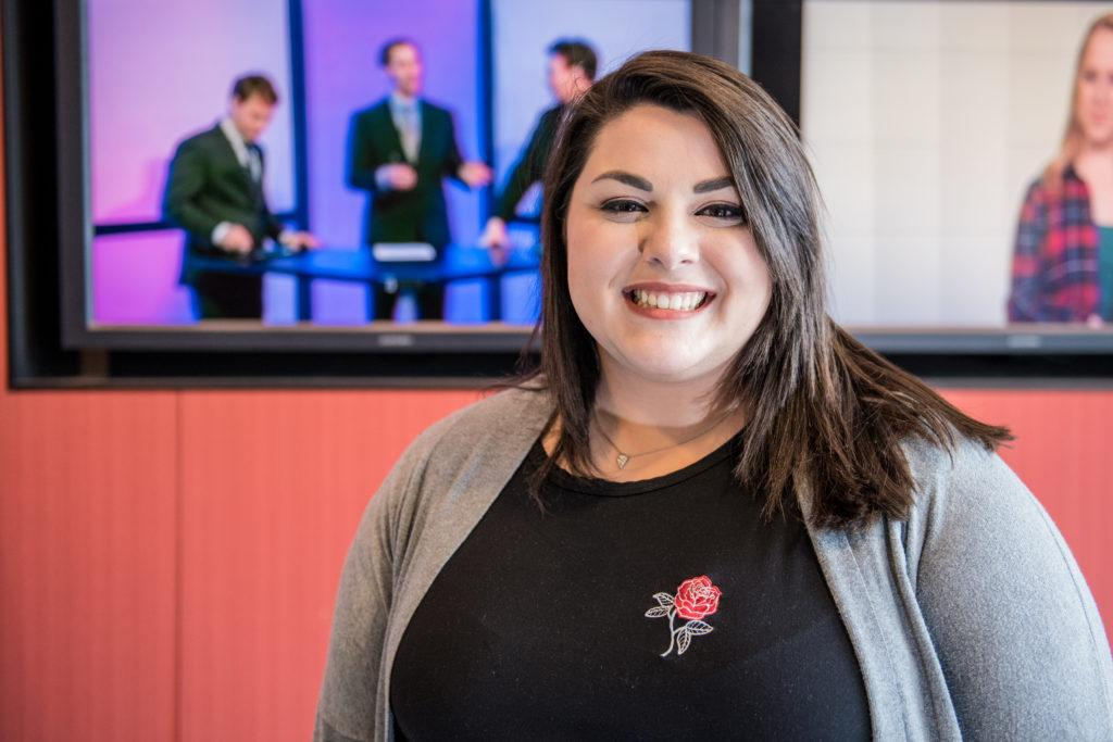 SGA Executive President Jess Guida appointed herself as the board of trustees representative without a vote. Photo courtesy of Beacon Archives.