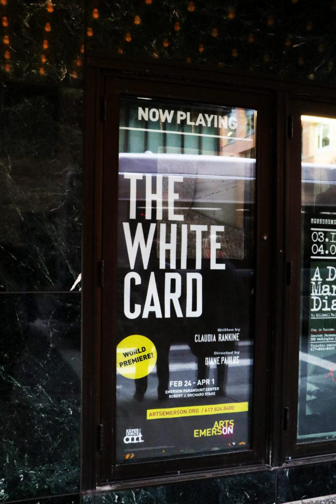 The White Card runs until April 1. Photo by Lala Thaddeus.