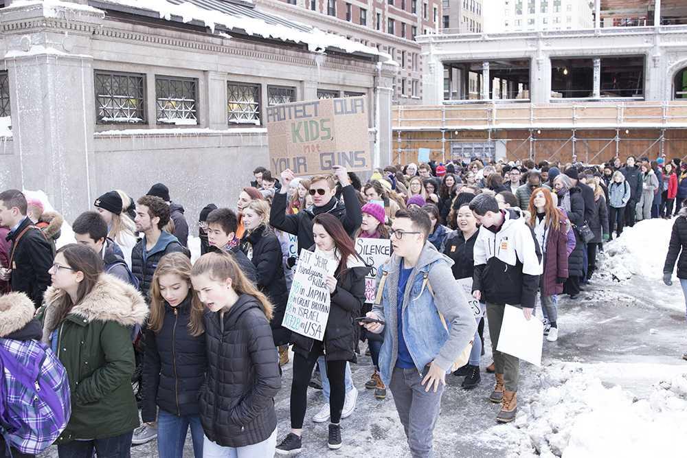 Students say Enough! to gun violence