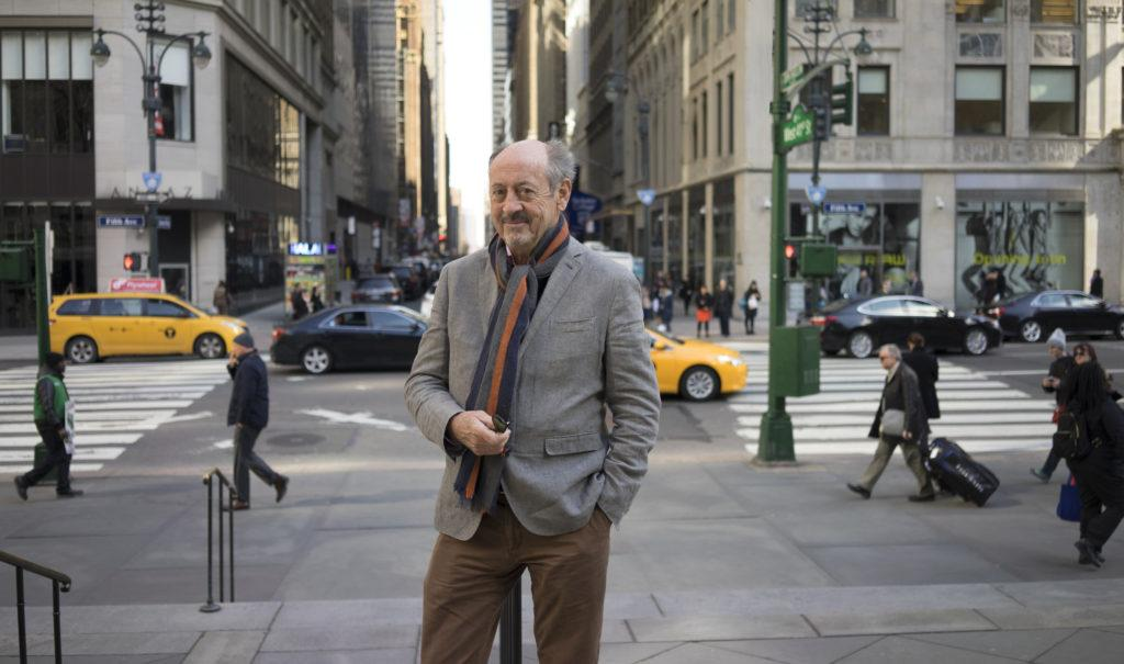 Billy Collins, a renowned American poet, will speak at the class of 2018 commencement in May. Photo courtesy of Michelle Gaseau.