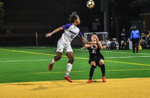 Men's soccer drops conference opener to Clark