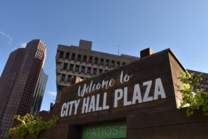 Student organizers relocate Flake protest to City Hall Plaza