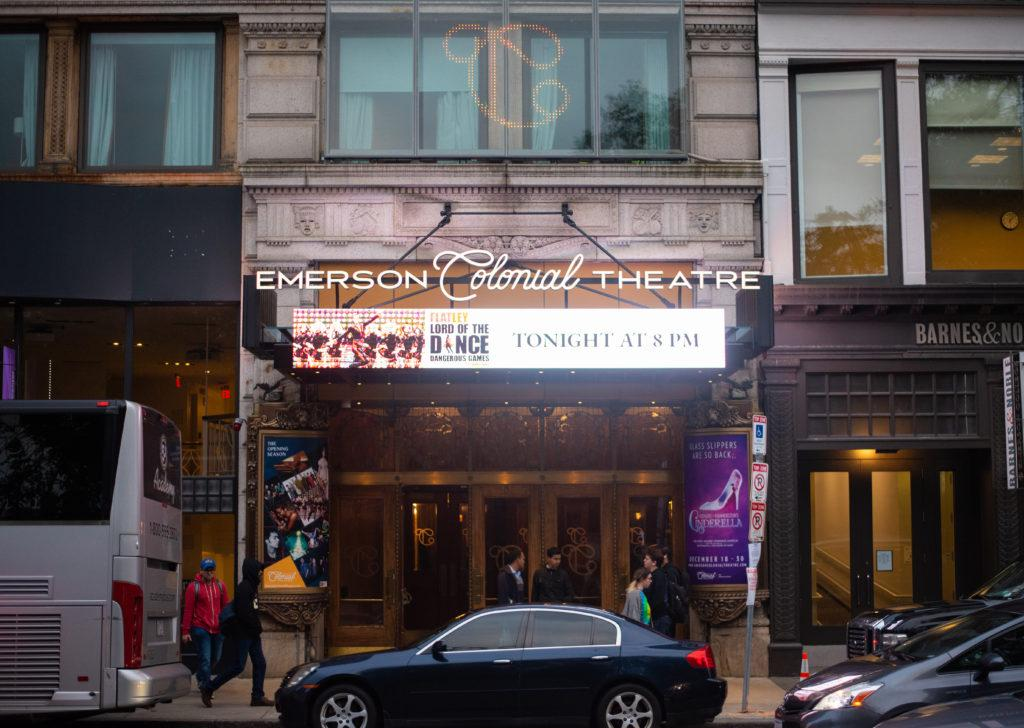 The+college+canceled+Senator+Jeff+Flake%27s+appearance+at+the+Colonial+Theatre+on+Oct.+1+citing+safety+concerns.+Cullen+Granzen+%2F+Beacon+Staff+