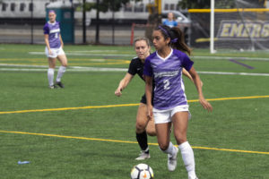 Versatile sophomore takes charge for women's soccer