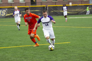 Men's soccer looks to contend with young squad