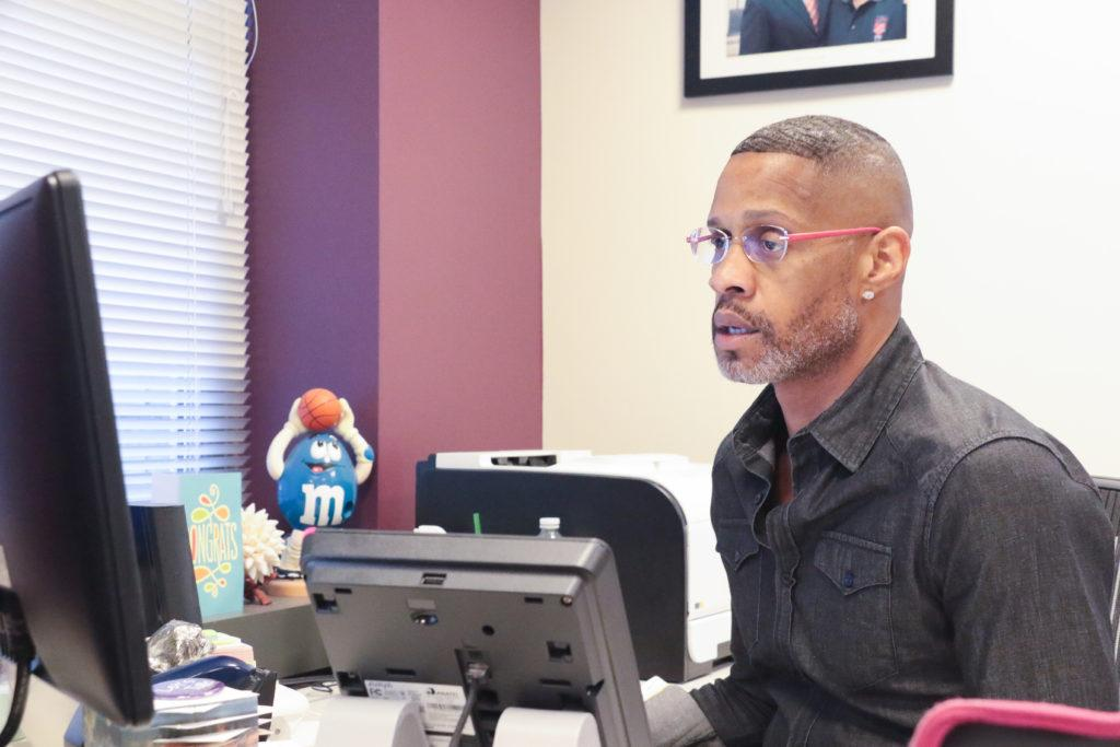 Anthony Pinder, associate vice president of internationalization and global engagement, hopes new staff will bring changes to the office.
