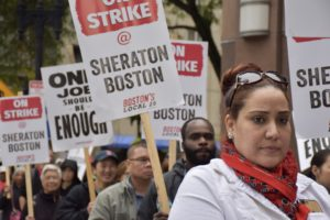 Watch: Alumna organizes major hotel workers strike