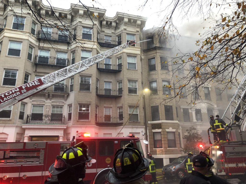 Fire+breaks+out+near+Hemenway+residence+hall%2C+students+affected