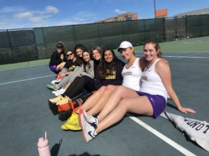 Tennis teams target conference success after fall season