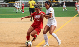 Women's soccer makes final push for playoff spot