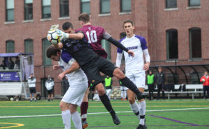 Men's soccer loses to NEWMAC leaders Springfield