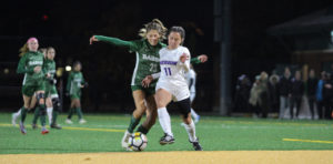 Women's soccer wins first home NEWMAC playoff game in college history