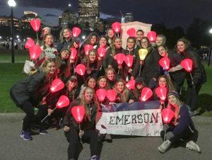 The women's soccer raised $5,571 for the Leukemia & Lymphoma Society. Photo Courtesy of David Suvak