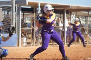 Jill Gearin '18 played softball at Emerson for four years. Photo Courtesy of Jill Gearin