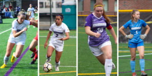 Five women's soccer players earn NEWMAC awards