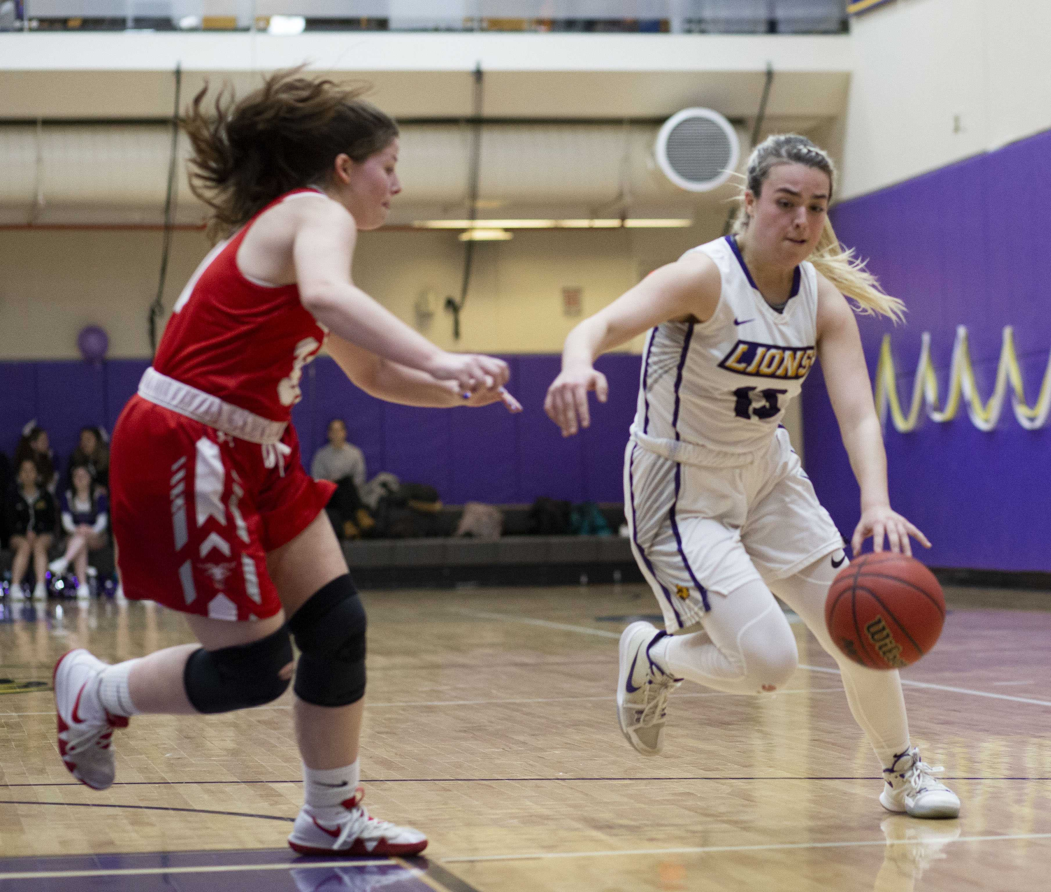 Junior Quinn Madden received the Defensive Athlete of the Week accolade for her performance against Babson and Coast Guard. Photo by Alexa Schapiro / Beacon Correspondent