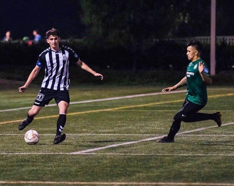 Bochicchio joined the LA10 football club five years ago. Photo courtesy of Duncan Bochicchio.