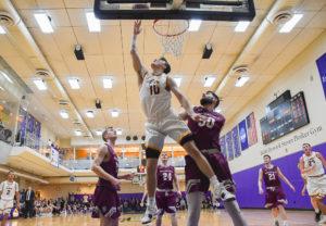 Men's basketball makes history, advances to championship