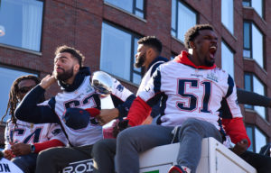 Watch: New England Patriots celebrate Super Bowl victory on Boylston Street