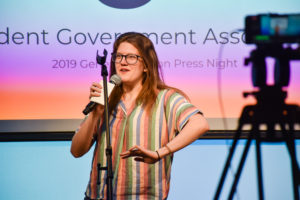 Junior Abigail Semple recieved the fewest votes out of the top three candidates for executive treasurer in the spring 2019 election. Beacon Archive