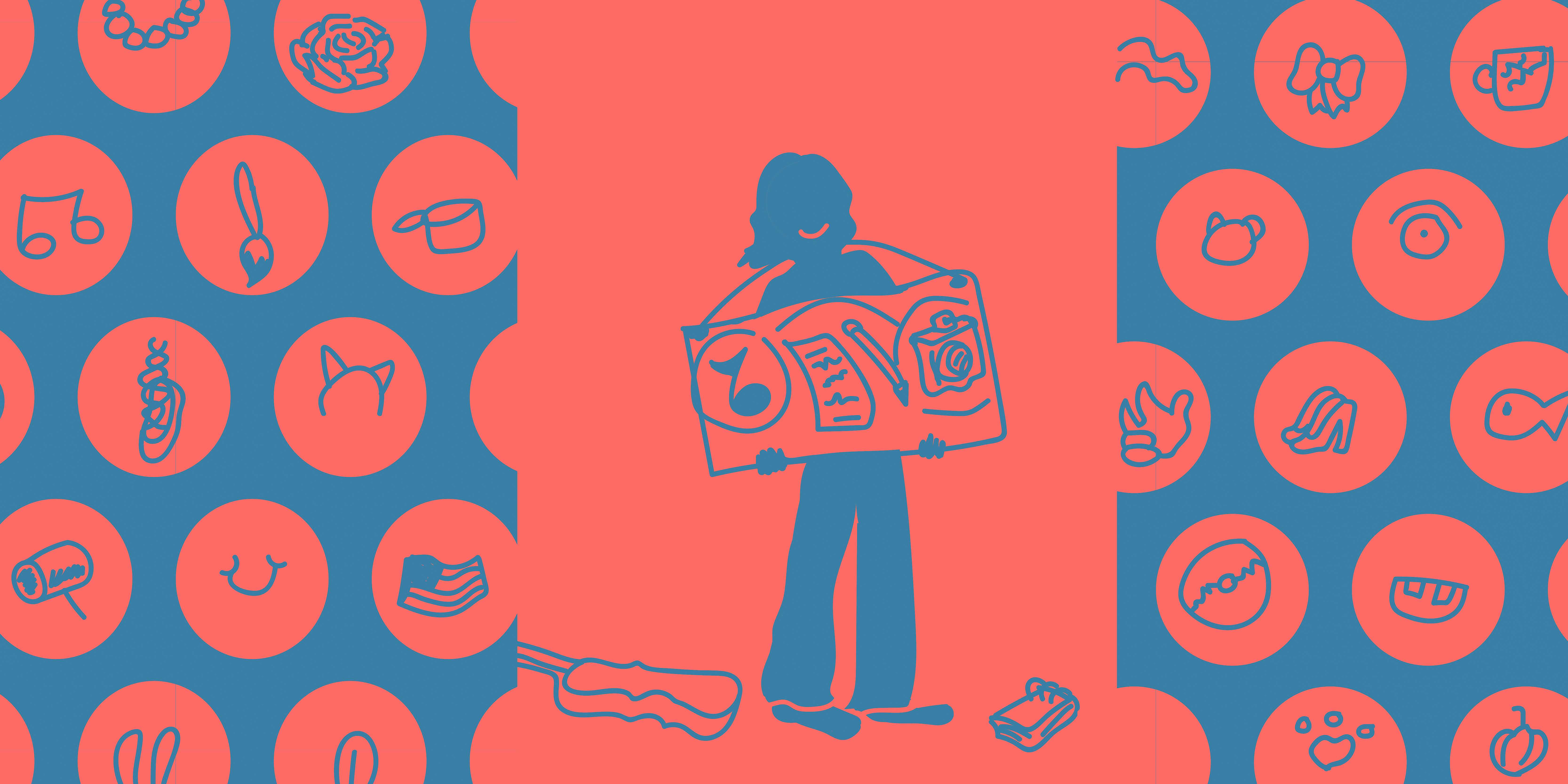 While developing a personal brand will not guarantee a job after graduation, it can certainly help with the search. / Illustration by Ally Rzesa