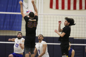 Men's volleyball 1-3 in conference play following loss to Emmanuel
