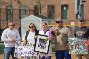 Seniors Leonardos, Jones announced as softball captains