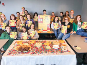 Students' fundraising campaign brings inclusive books to elementary school