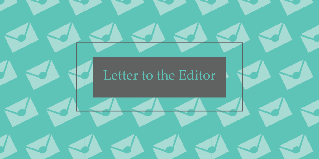 Letter: What will we do with our fear?