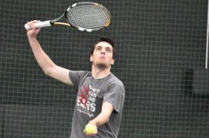 Men's tennis wins first NEWMAC match in program history