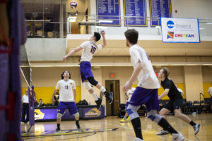 Men's volleyball loses fourth straight conference game