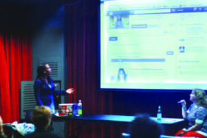 Sorority hosts networking workshop for college community