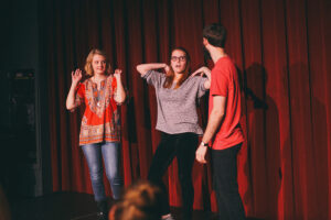 Swomo performs first show of Spring semester