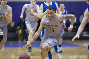 Against stiffer competition, men's basketball begins to adjust