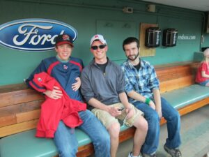 Chance of a lifetime: Journalism major interns at ESPN Boston, hooks on as Red Sox beat writer