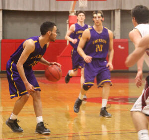Men's basketball loses Emerson's first  NEWMAC playoff game at MIT