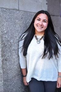 Current AEPhi president, future NBC Page: Sarah Stein
